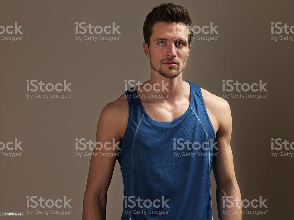 Sportsman royalty-free stock photo
