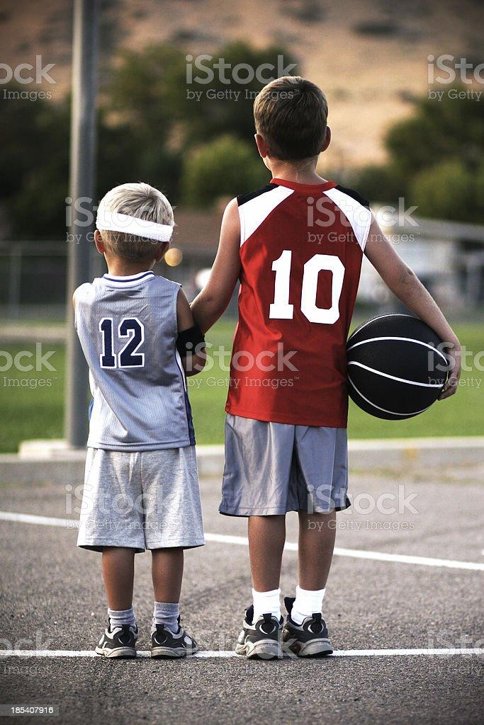 Sportsmanship royalty-free stock photo