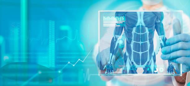 スポーツ選手の健康診断 - プロテイン ストックフォトと画像