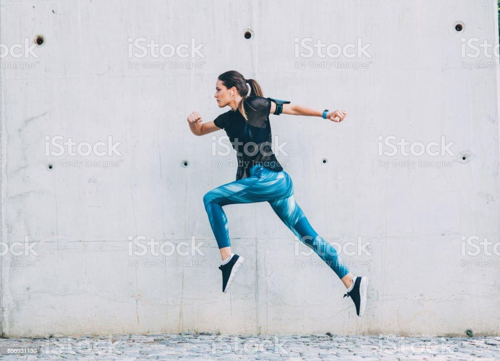 Sportswoman - foto stock