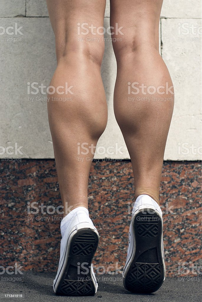 Sporty Legs royalty-free stock photo