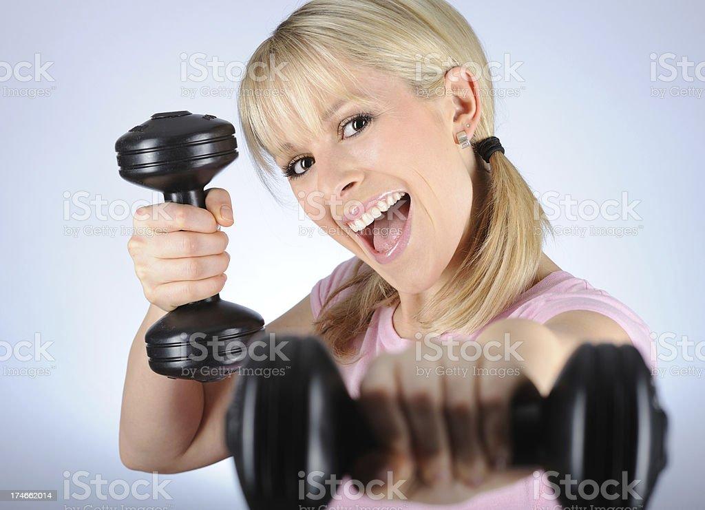 Sporty Vitality stock photo