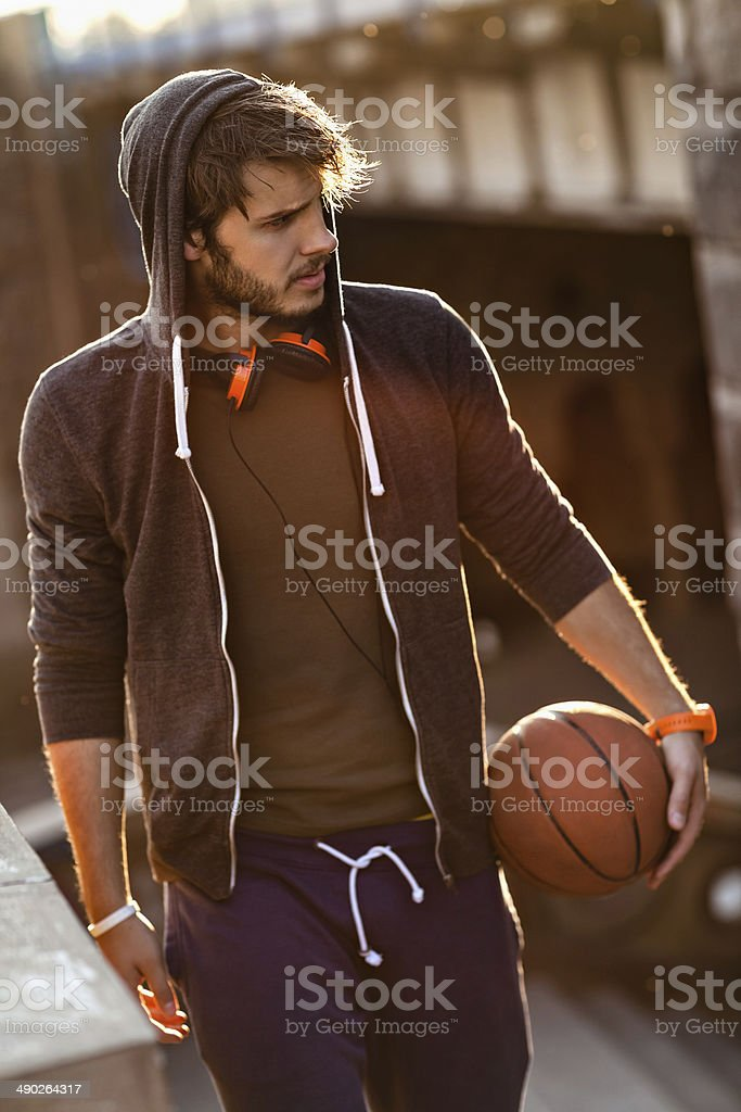 Sporty young man royalty-free stock photo