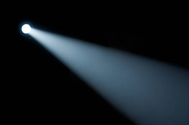 Spot light beam. Flashlight  stage light stock pictures, royalty-free photos & images