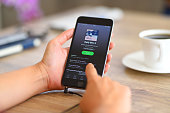 Spotify on iPhone 6