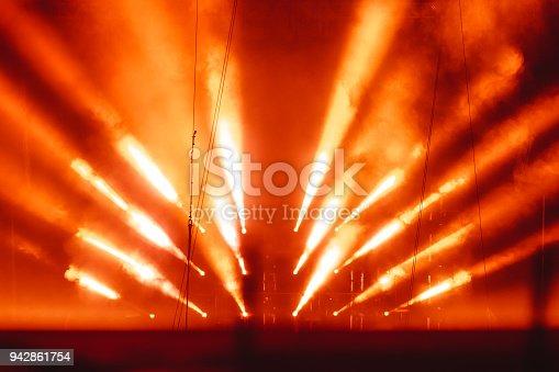 istock spotlight in smoke 942861754