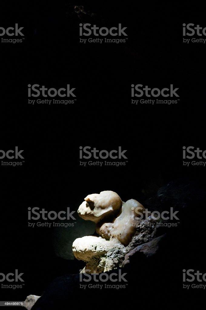 spotlight on limestones stock photo