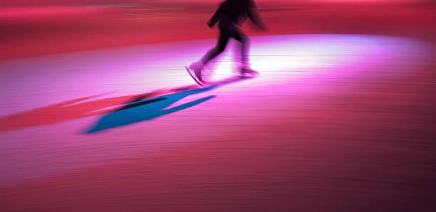 Spotlight on Skating stock photo