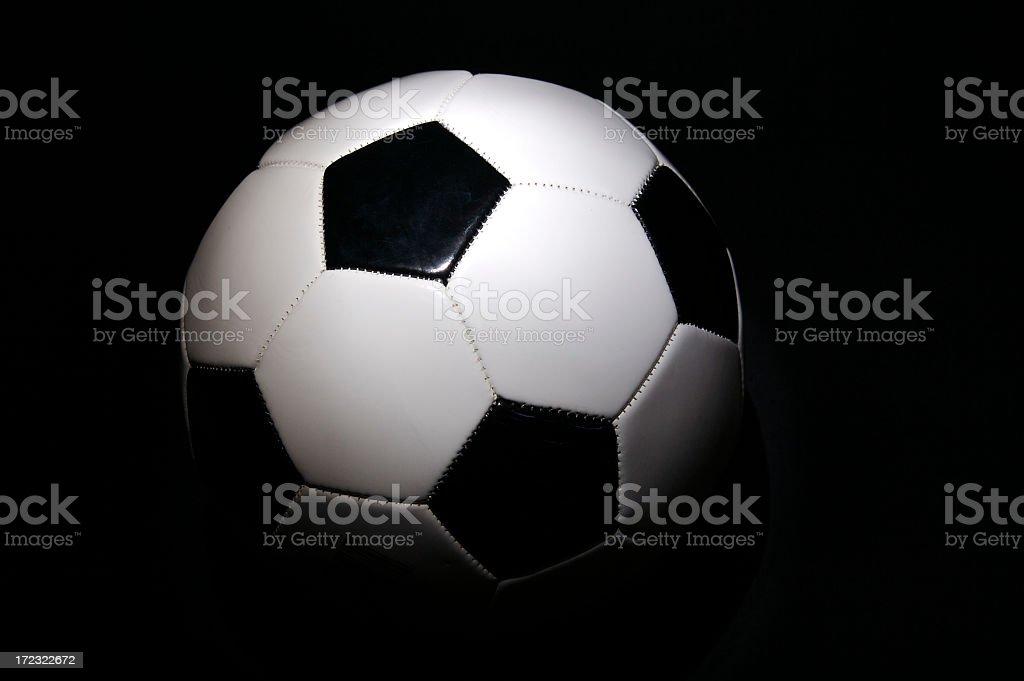 Spotlight on Soccer royalty-free stock photo