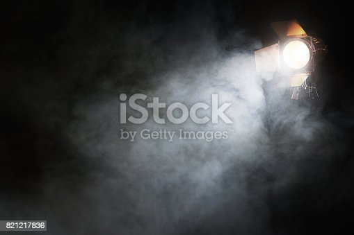 istock Spotlight on the stage 821217836