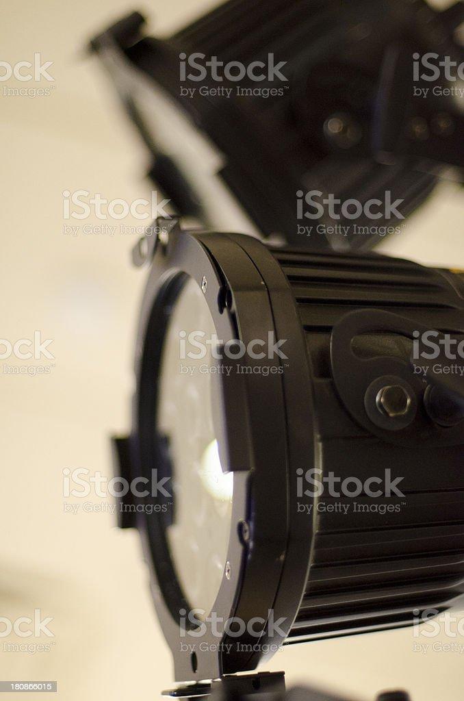 LED Spotlight stock photo