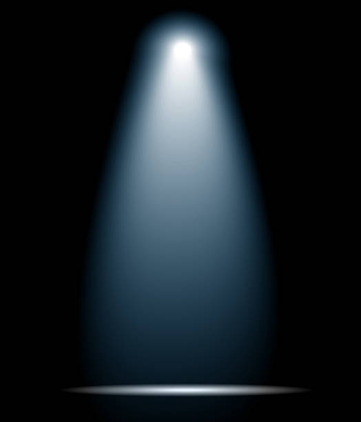 Spotlight Spotlight at the stage spot lit stock pictures, royalty-free photos & images