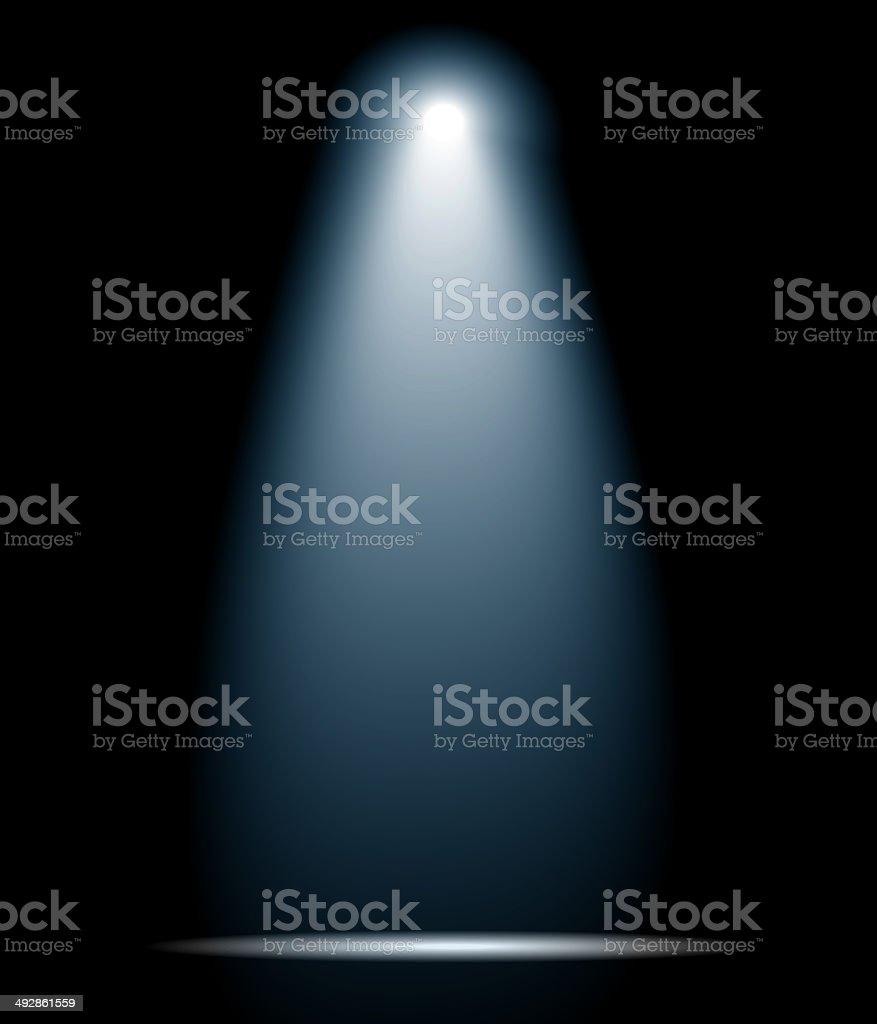 Spotlight stock photo