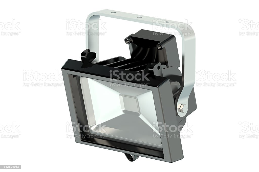 LED spotlight stock photo