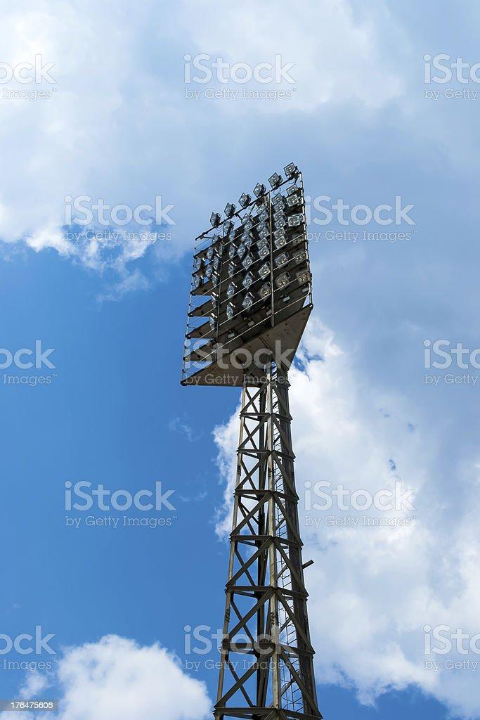 Spot-light tower royalty-free stock photo