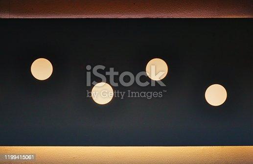 1015509020istockphoto Spotlights as wall or ceiling lighting. 1199415061