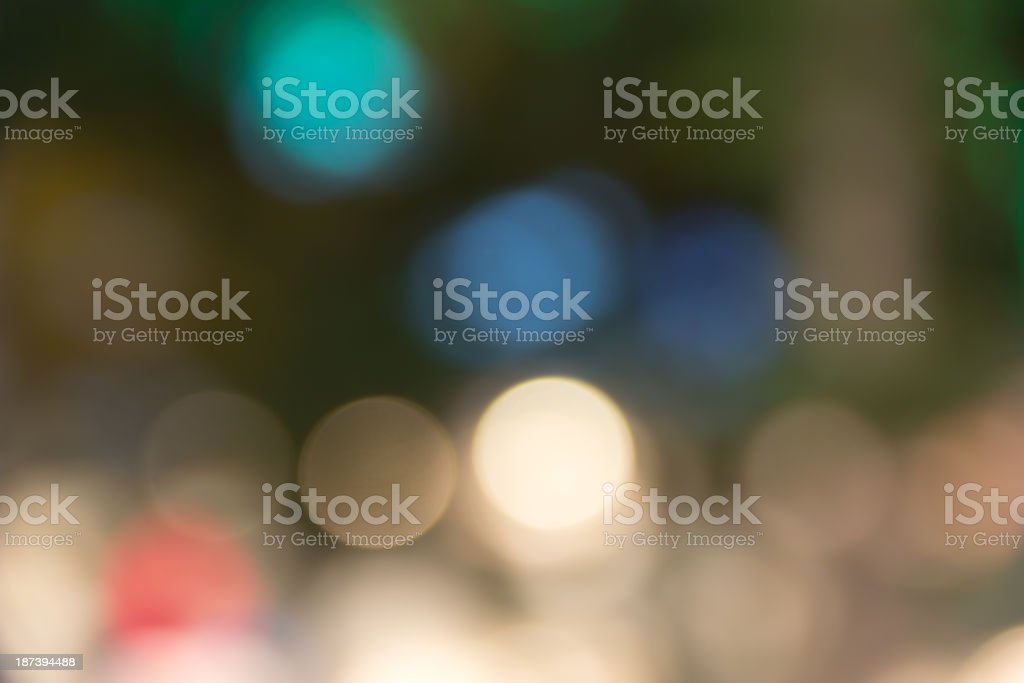 Spots and Bokeh (Series) royalty-free stock photo