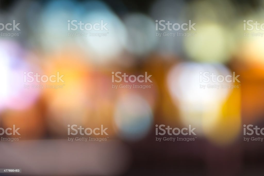 Spots and Bokeh (Series) stock photo
