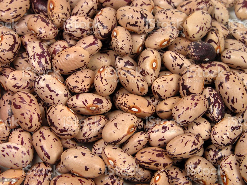 Spotted beans texture royalty-free stock photo