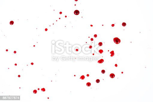 172646637 istock photo Spotted blood 887927874