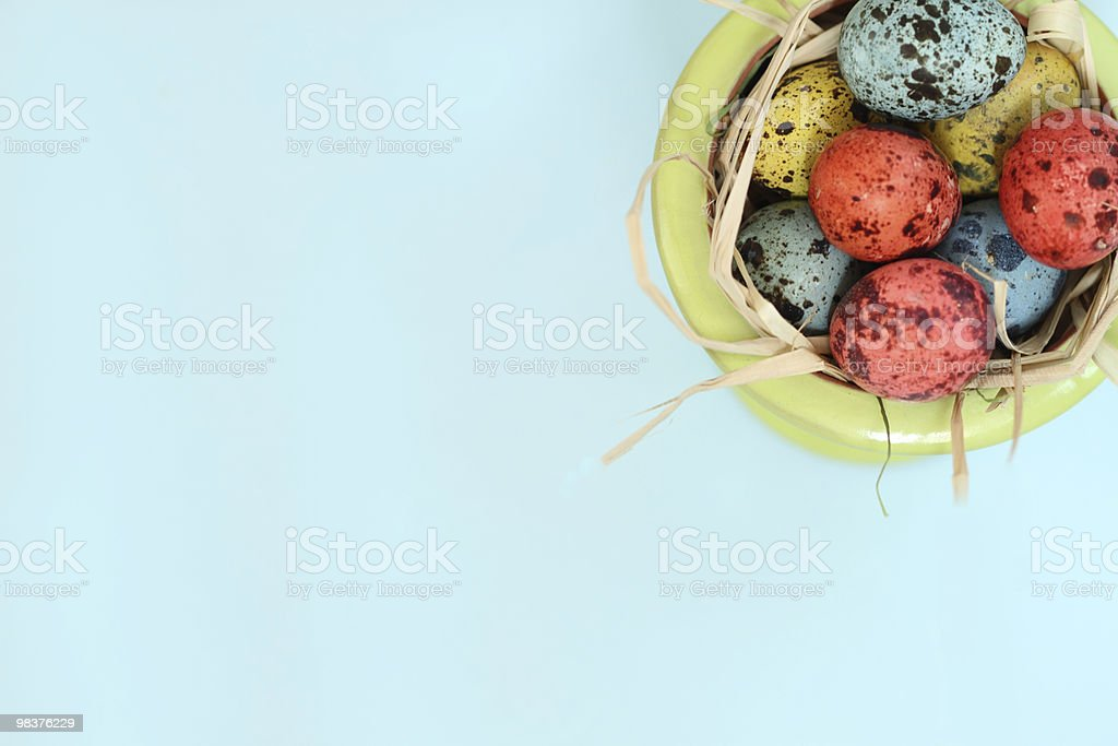 Spotted Eggs royalty-free stock photo