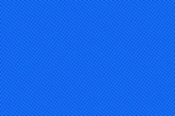 斑點流行藝術藍色背景, 空白框架與複製空間 - 卡通 個照片及圖片檔