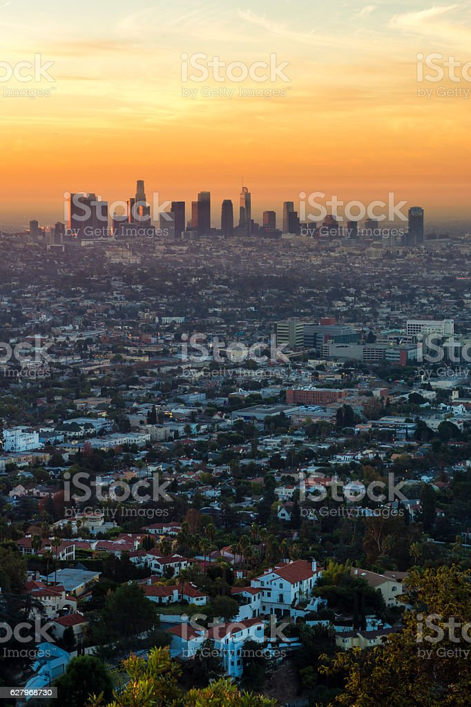 LA Sprawl stock photo
