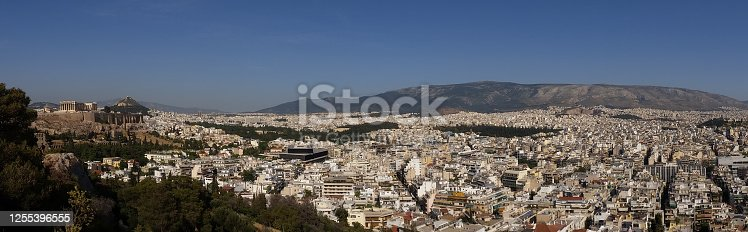 Panorama of one of the worlds oldest cities, Athens