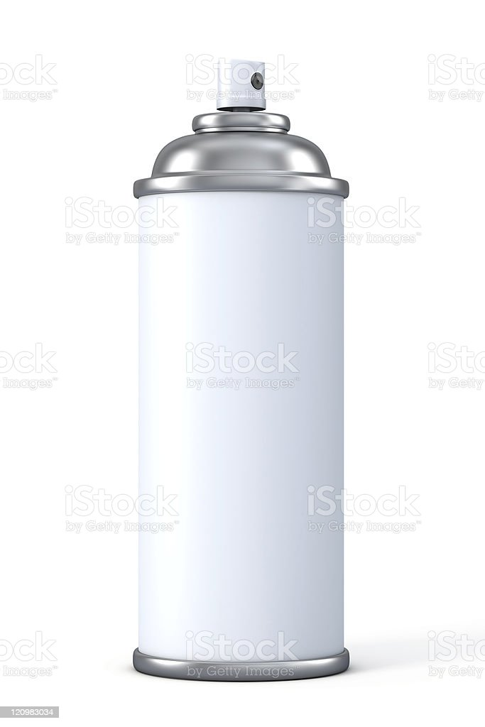 Spray Can stock photo