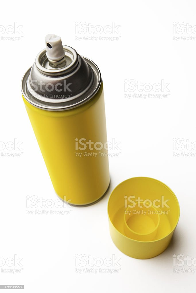 Spray Can royalty-free stock photo