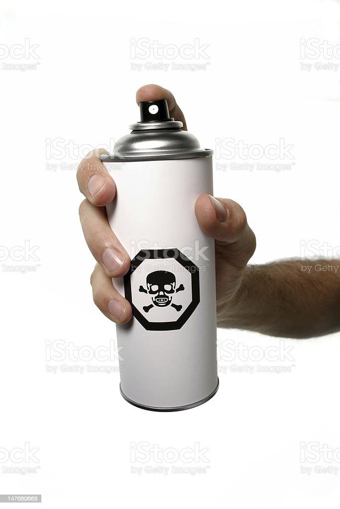 spray can toxic royalty-free stock photo