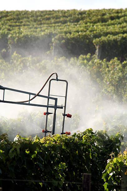 Spray machinery stock photo