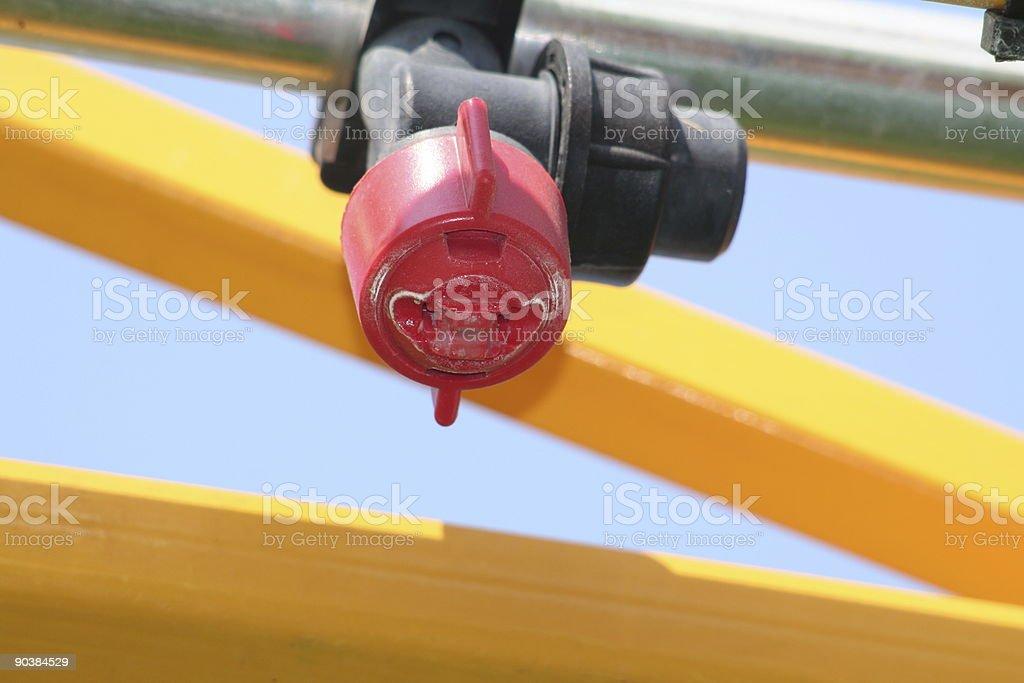 Spray Nozzle stock photo