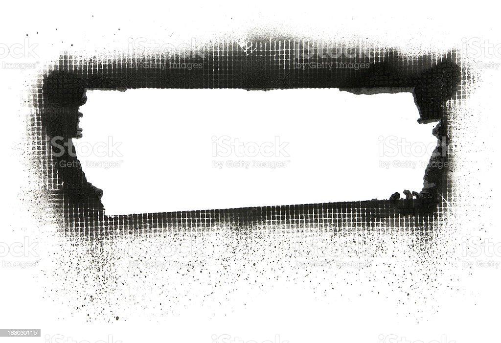 Spray Paint - Mesh Banner stock photo