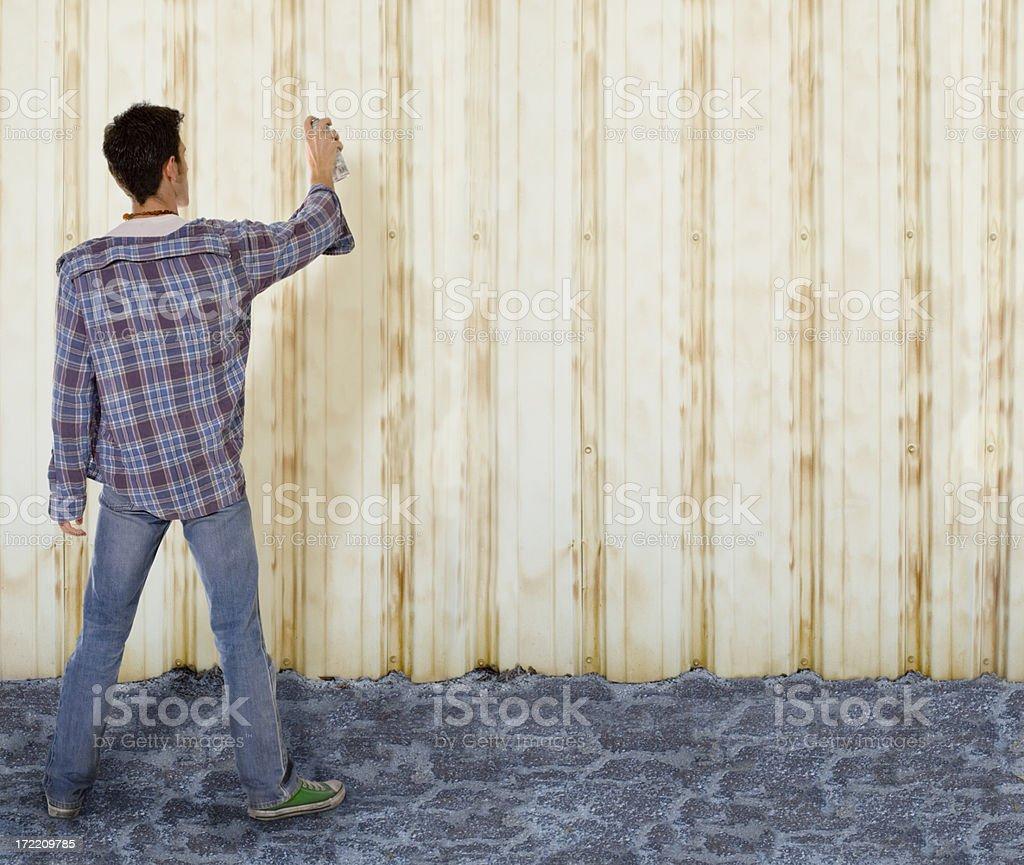 spray painting royalty-free stock photo