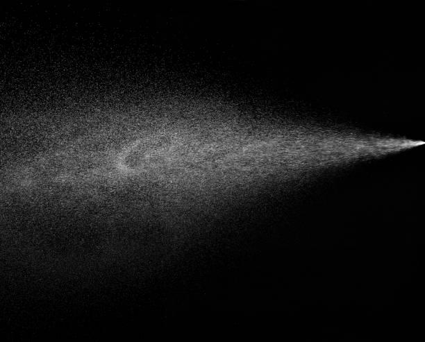 spray water drop droplet steam fog air - spruzzo profumo foto e immagini stock