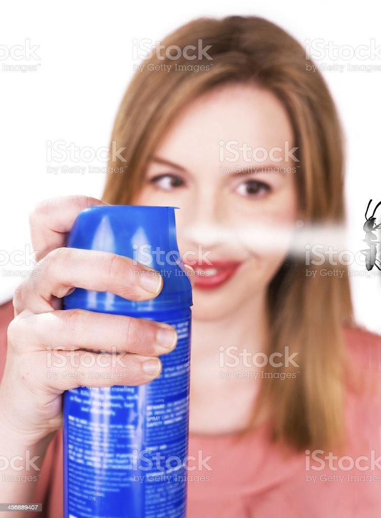 Sprayed stock photo