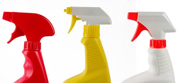 Spray-spray-spray! stock photo
