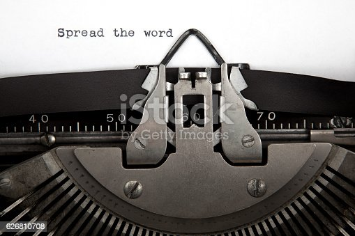 istock Spread The Word Communication Concept 626810708