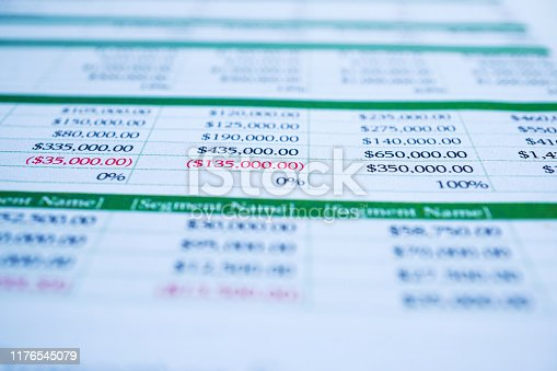 640947656istockphoto Spreadsheet table paper with pencil. Finance development, Banking Account, Statistics Investment Analytic research data economy, trading, Mobile office reporting Business company meeting concept. 1176545079