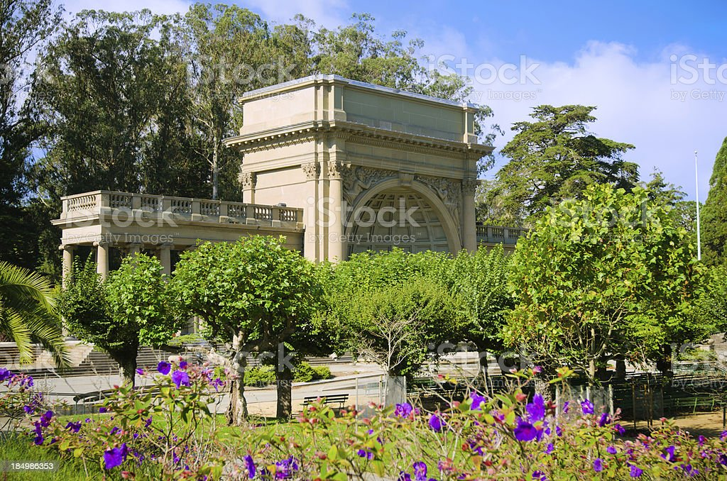 Spreckels Temple of Music at Golden Gate Park stock photo