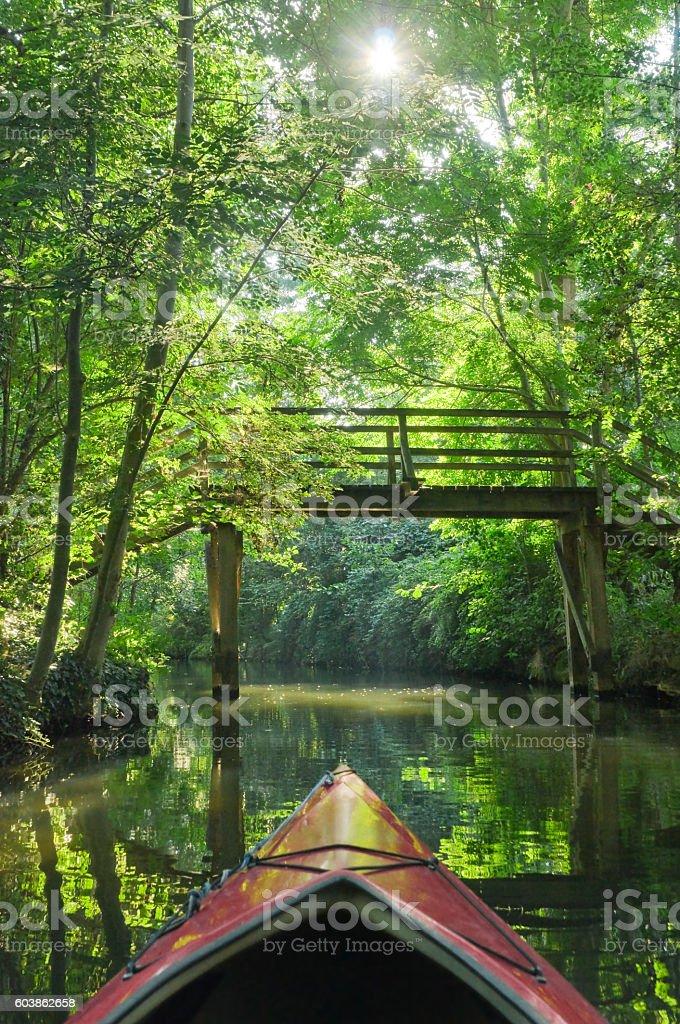 Spreewald - Brandenburg, Germany stock photo
