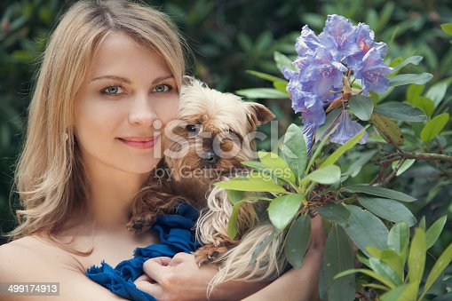 508014973 istock photo spring and dog 499174913