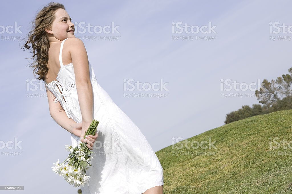 spring and flowers royalty-free stock photo