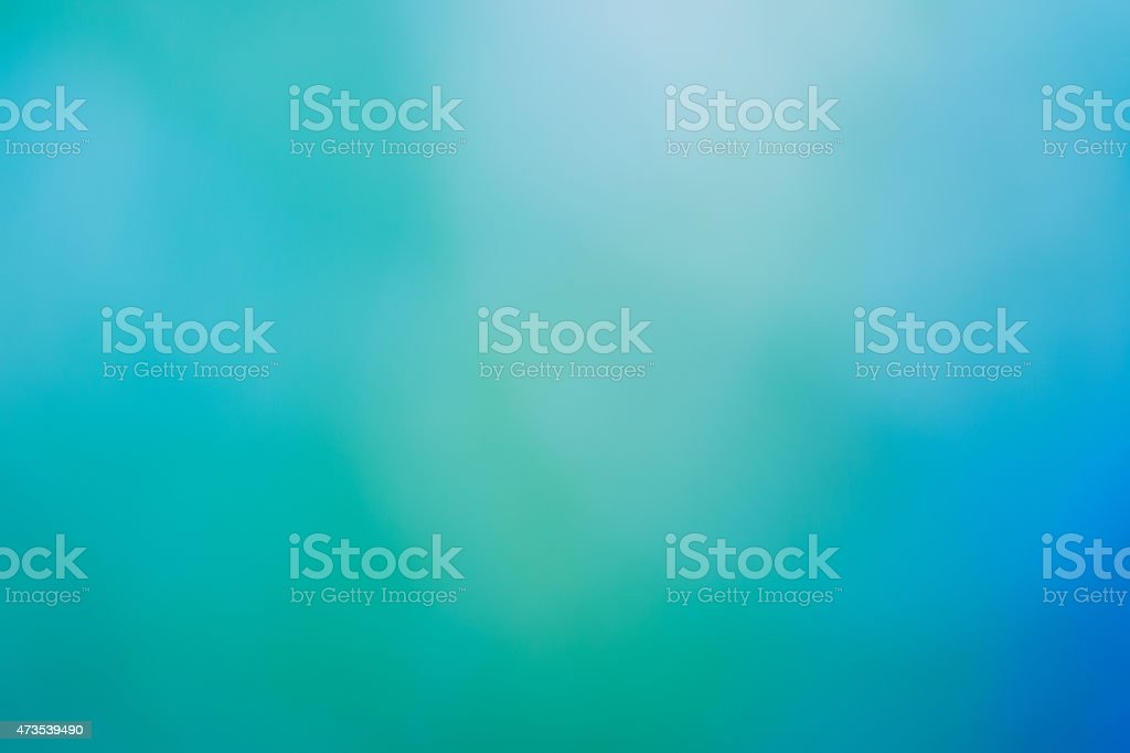 Spring and summer nature background - beautiful green bokeh stock photo