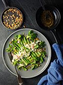 istock Spring Asparagus salad 962578750