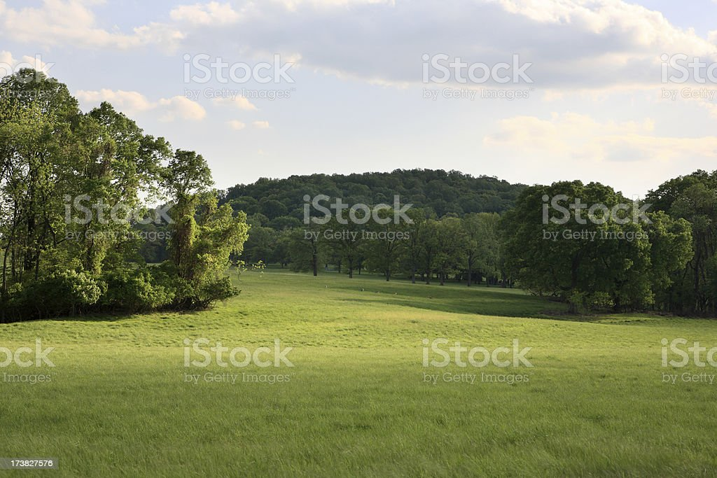 Spring at Valley Forge royalty-free stock photo