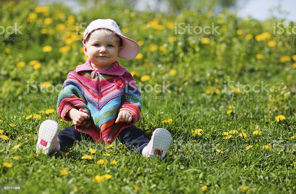 Spring Baby royalty-free stock photo