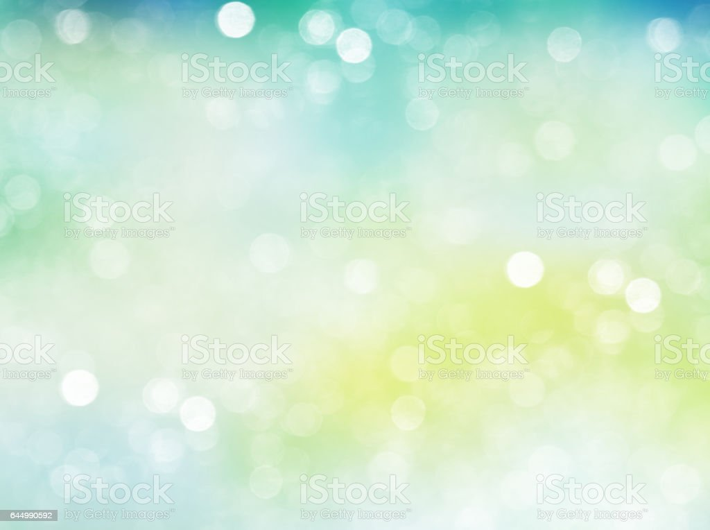 Spring blur natural light background illustration. stock photo