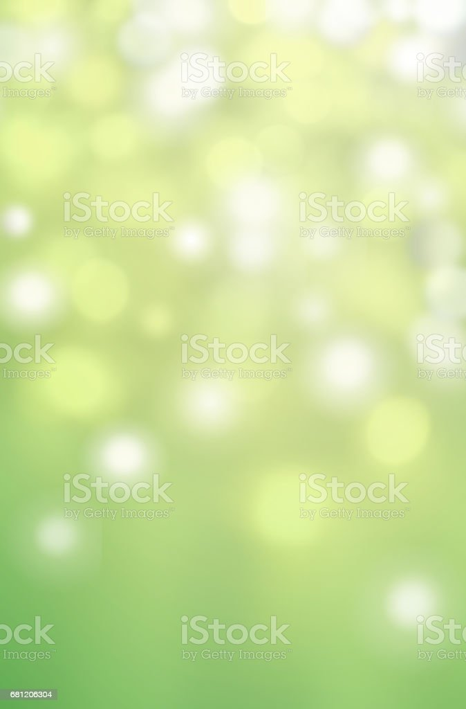 Spring Bokeh  background for website,  pattern, wallpaper. Defocused green and white boke abstract texture stock photo
